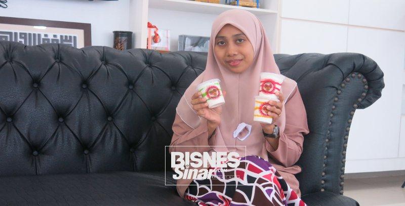 Norsyawani optimis ais krim yogurt dihasilkan mampu cipta nama dalam pasaran tempatan
