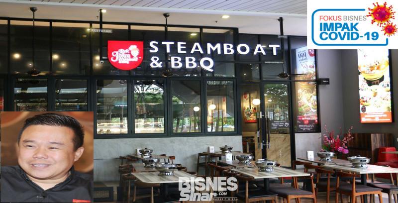 Perniagaan Pak John Steamboat & BBQ terjejas selepas pelaksanaan PKP