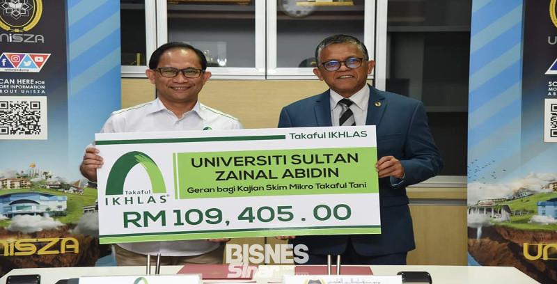 Takaful Ikhlas, UniSZA jalin kerjasama penyelidikan mikro takaful