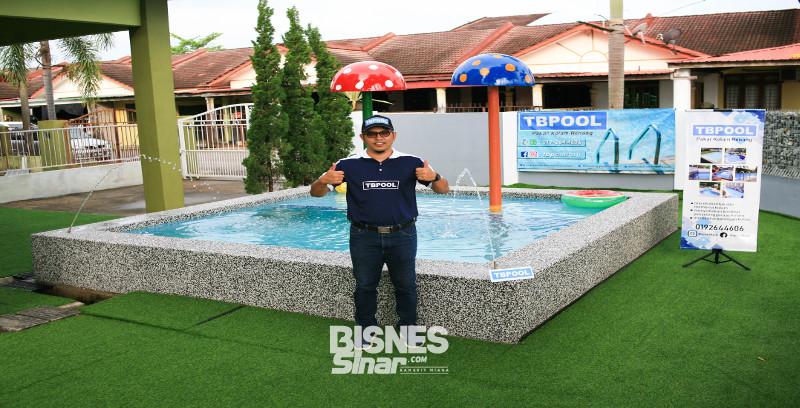 TB Pool fokus bina kolam renang