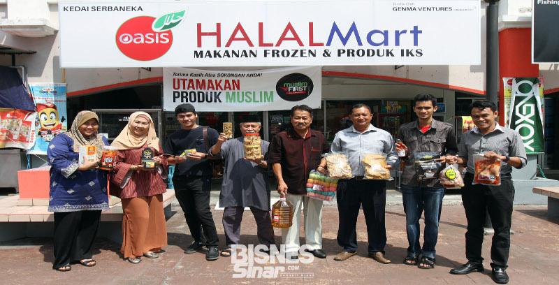 Oasis Halal Mart sedia platform produk halal kepada pengeluar, pengguna