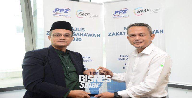SME Corp. Malaysia bekerjasama dengan PPZ-MAIWP mudahkan PKS bayar zakat perniagaan