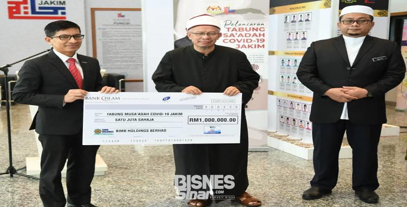 Bank Islam sumbang RM1.6 juta bantu barisan hadapan negara, golongan memerlukan