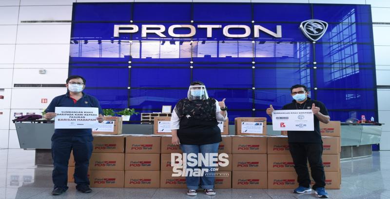 Proton hantar 8,000 pelindung muka ke Kelantan