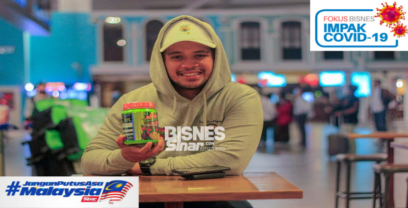 Promosi produk tanpa henti, Mohd Safwan bangkit kembali selepas perniagaan berdepan kerugian