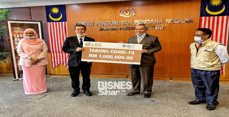 LBS Foundation sumbang RM1 juta kepada Tabung Covid-19 NADMA