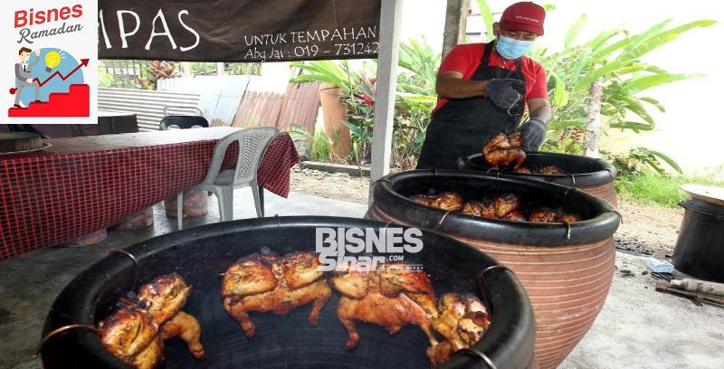 Ayam tempayan guna sembilan jenis rempah