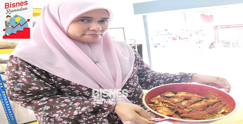 Ompok ikan makanan tradisi penduduk Riau seakan-akan asam pedas