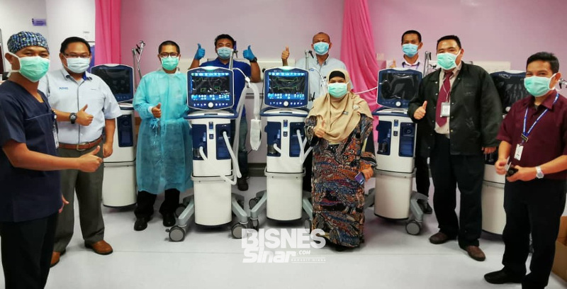 Duopharma sumbang peralatan perubatan, wang tunai RM500,000
