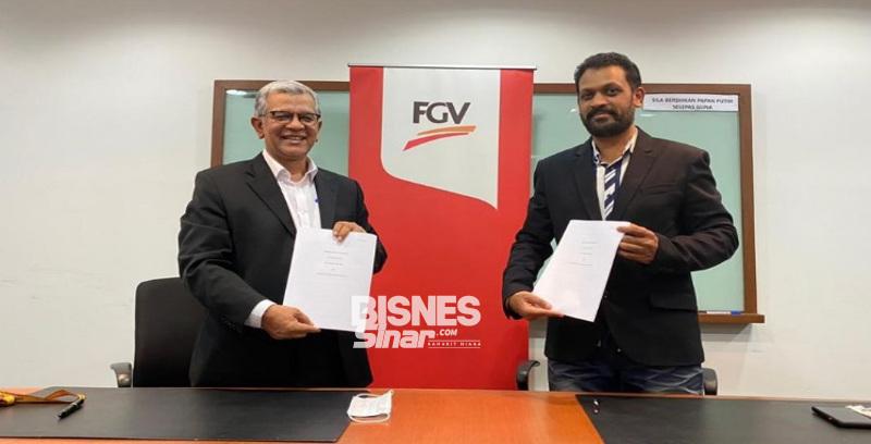FGVT teroka pasaran produk makanan di India