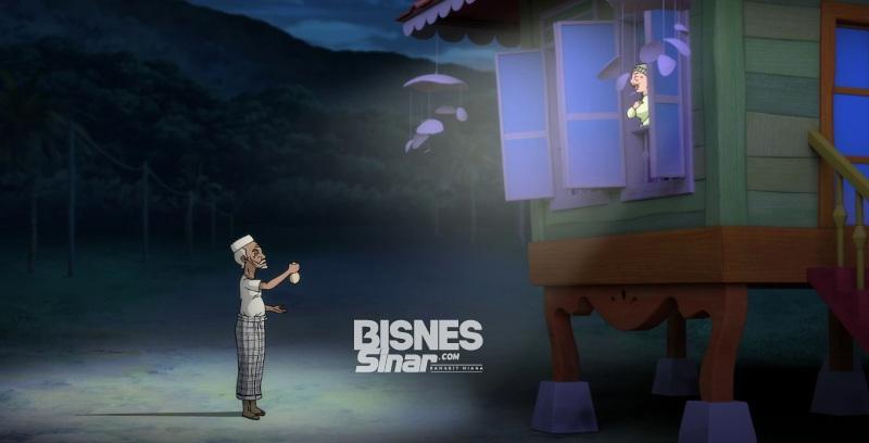 Petronas pupuk sifat prihatin dalam animasi Antara Dua Jendela