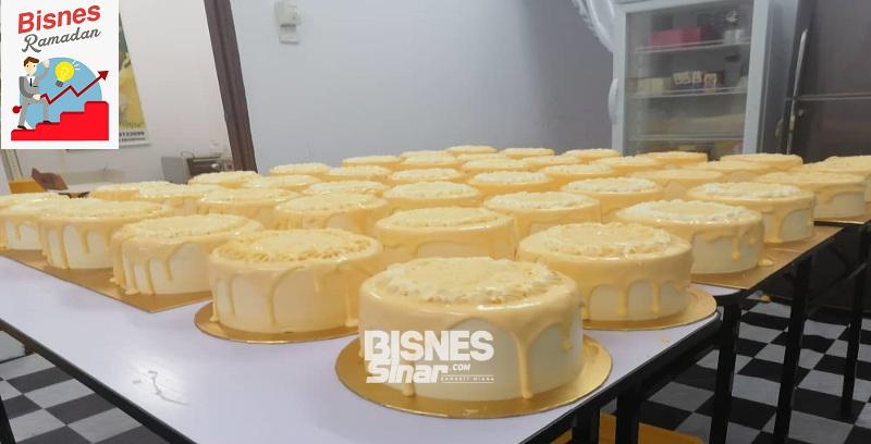 Jual 1,000 kek durian D24 sebulan