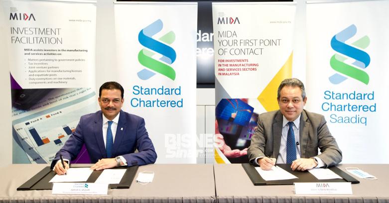MIDA, Standard Standard Chartered sasar sektor berimpak tinggi