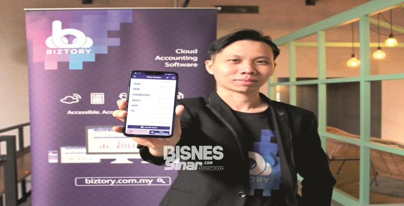 Biztory lancar aplikasi perakaunan mudah alih