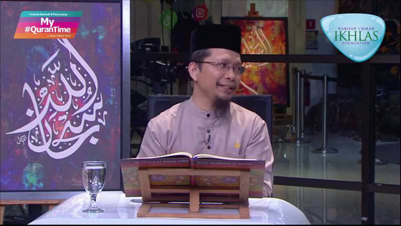 EPISOD 93 MY #QURANTIME RABU 9 SEPT 2020 SURAH ALI IMRAN (3:133-140) HALAMAN 67