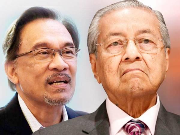 Tun M dedah sebab Anwar tak layak jadi calon PM
