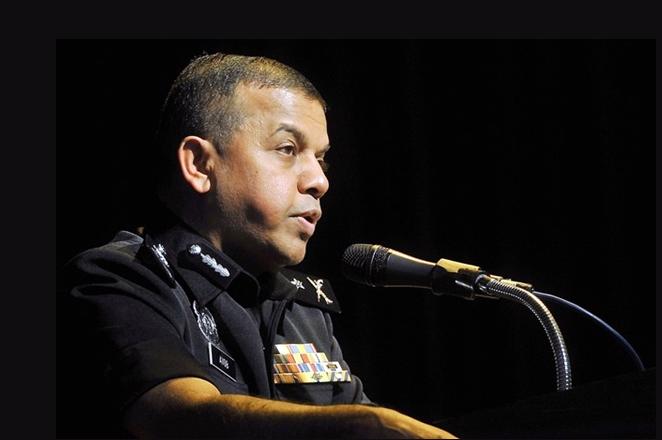 'Jangan jadi polis kalau takut'