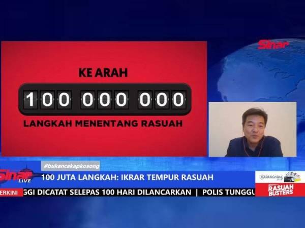 3,300 rakyat Malaysia sertai kempen 100 Juta Langkah Menentang Rasuah