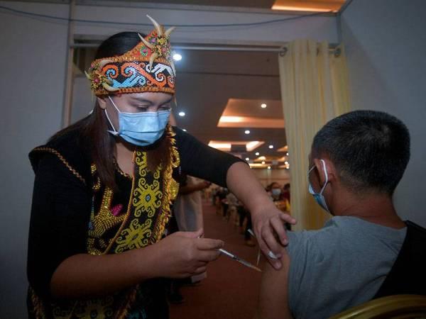 Vaksin di bawah PICK mencukupi untuk Sarawak