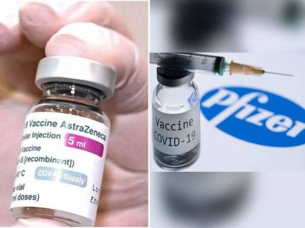 Campuran vaksin AstraZeneca, Pfizer tingkatkan perlindungan: Kajian