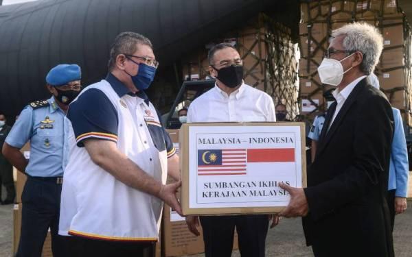 Malaysia sumbang peralatan perubatan bantu Indonesia perangi Covid-19